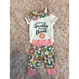 Other - Donut 3 pc outfit